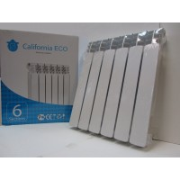 Радиатор для отопления алюминиевый  CALIFORNIA ECO AL-500/100.