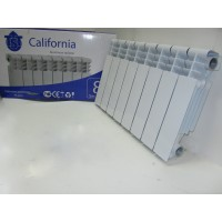 Радиатор для отопления алюминиевый CALIFORNIA AL-300/80.