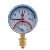 "Термоманометр радиал, 1/2""х80мм, 10 bar /120С, TST"